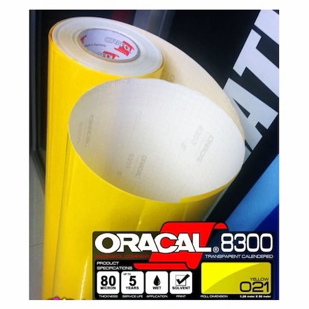 Oracal 8300 021 Sarı Transparan Folyo